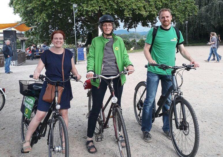 Für besseren Radverkehr: Tour mit Katja und Lisa