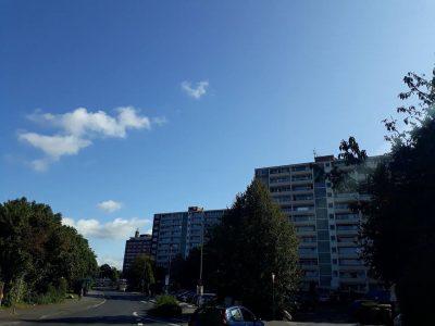 Sankt Augustin - Niederpleis: Auch das ist mein Wahlkreis: Wohnpark Niederpleis. Für diese Quartiere müssen Kommunen mehr tun können. Und wenn auch hier viele nette Menschen leben und man mehr preisgünstigen Wohnraum braucht - so sollte er dann nicht aussehen.
