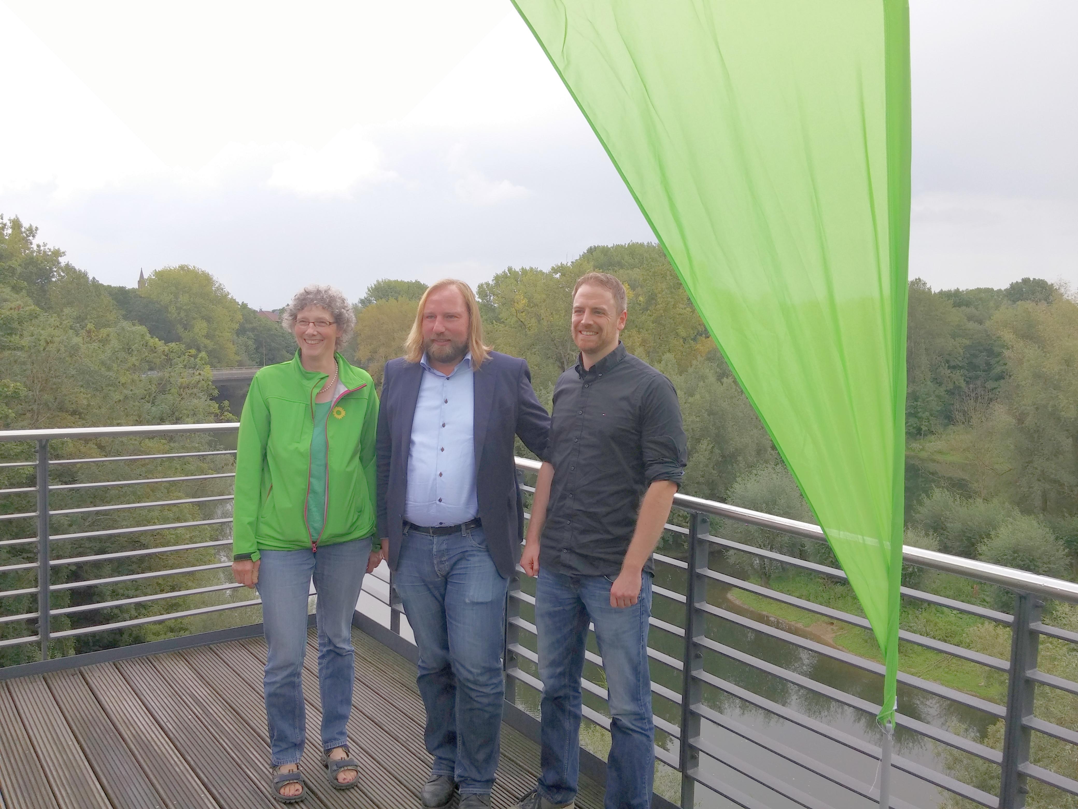 Toni in Troisdorf: Flussrenaturierung kann für alle Vorteile bringen