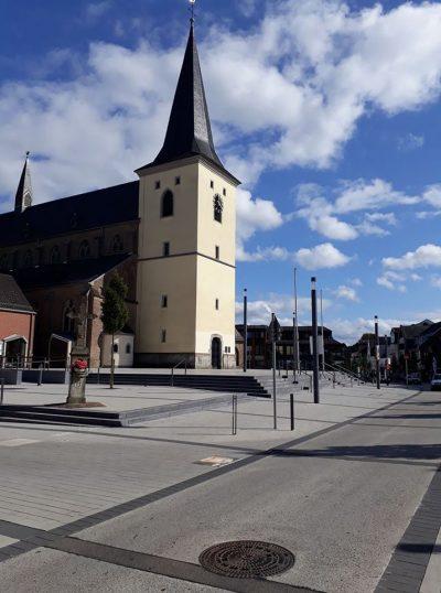 Meckenheim: Neu gestaltet: Die Meckenheimer Mitte. Übrigens dank Städtebaufördermittel des Bundes.