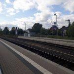 Rheinbach: Bahnhof Rheinbach: Wir GRÜNE fordern von der bundeseigenen DB eine Elektrifizierungsoffensive. E-Mobilität auch im ÖPNV realisieren, z.B. auf der Voreifelbahn.