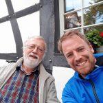 Rheinbach: Danke an Heribert Schiebener für die Einladung zur Stärkung!