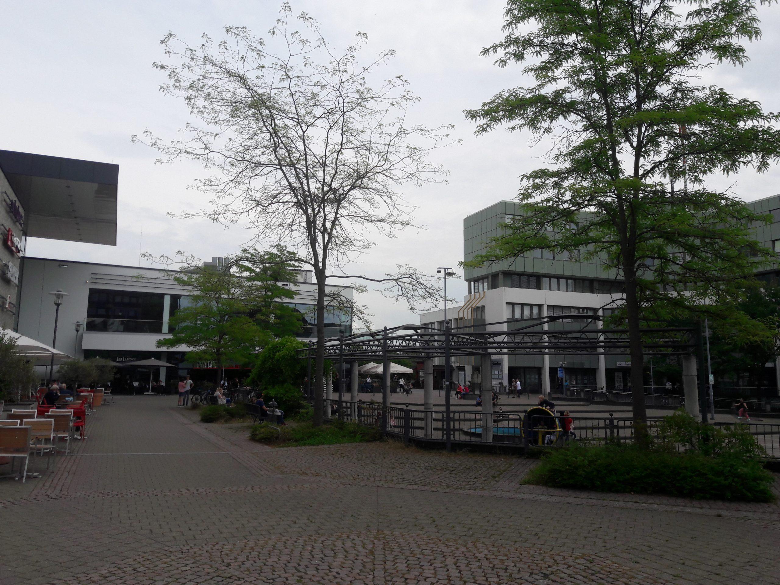 Sankt Augustiner GRÜNE für reduzierten Umbau des Karl-Gatzweiler-Platzes