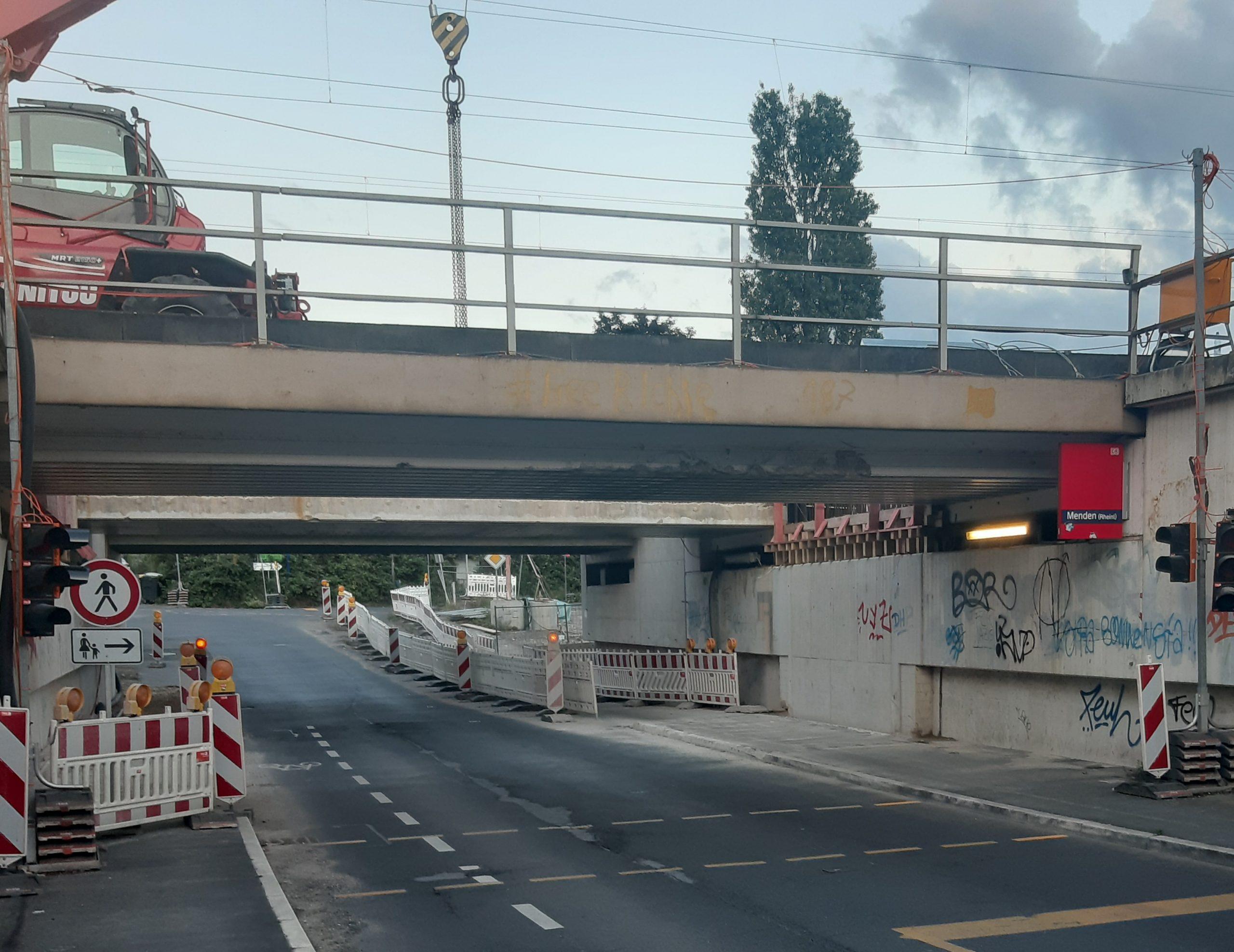 S 13 – Baustelle in Sankt Augustin: GRÜNE fordern Erklärung von Deutscher Bahn