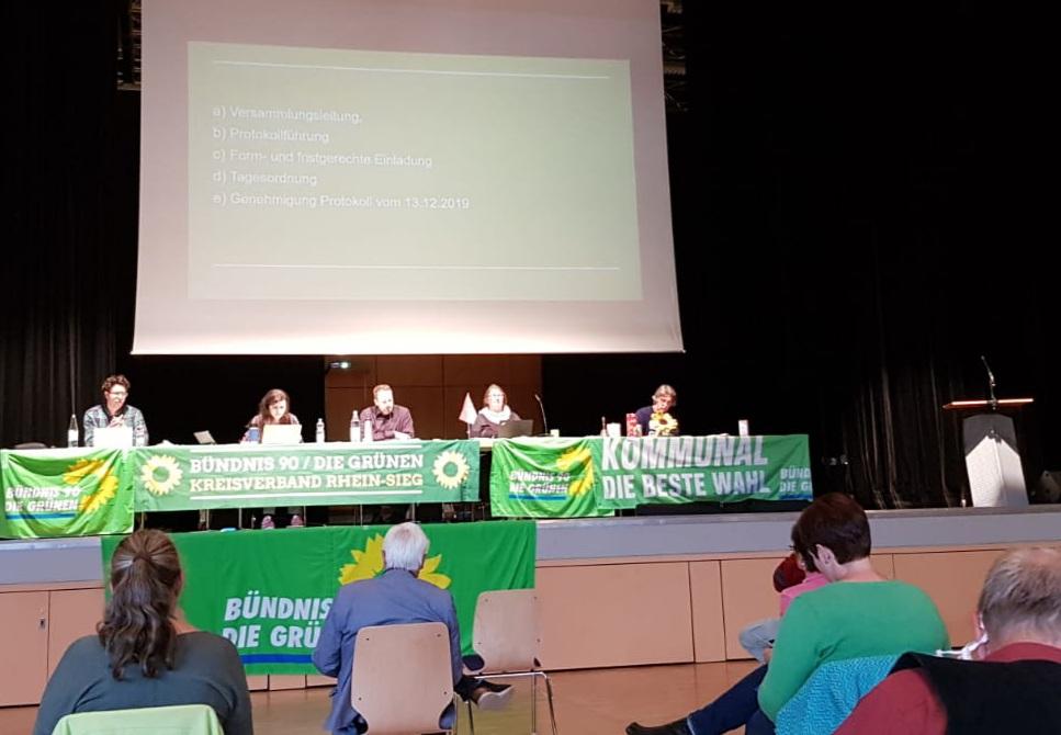 GRÜNE im Rhein-Sieg-Kreis stellen sich für Kreistagswahl auf